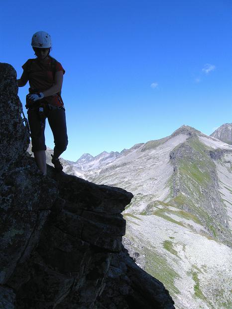 Foto: Andreas Koller / Klettersteig Tour / Bella Vista Klettersteig auf die Hohe Leier (2774 m) / 06.09.2009 23:31:44