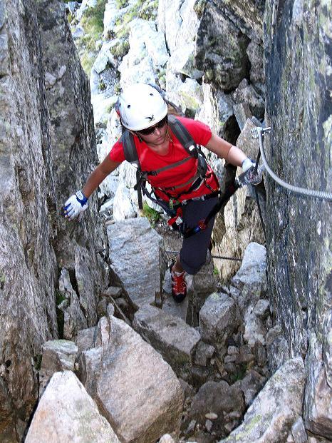 Foto: Andreas Koller / Klettersteig Tour / Bella Vista Klettersteig auf die Hohe Leier (2774 m) / 06.09.2009 23:31:22