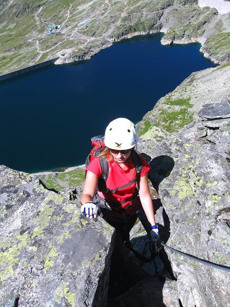 Foto: Andreas Koller / Klettersteig Tour / Bella Vista Klettersteig auf die Hohe Leier (2774 m) / 06.09.2009 23:29:54