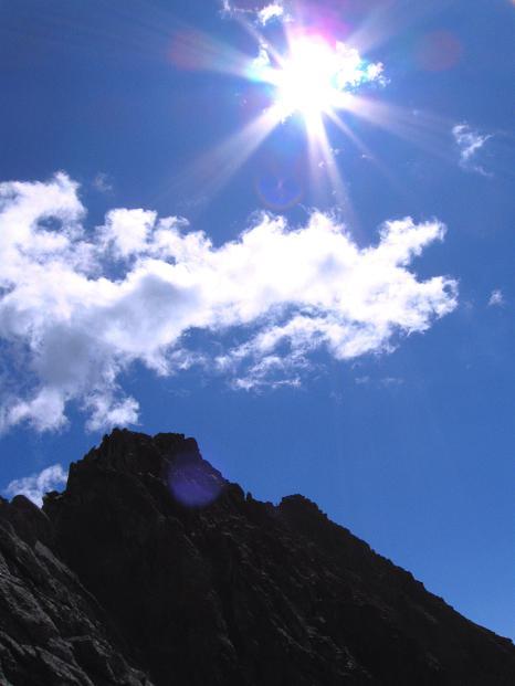 Foto: Andreas Koller / Klettersteig Tour / Bella Vista Klettersteig auf die Hohe Leier (2774 m) / 06.09.2009 23:29:23