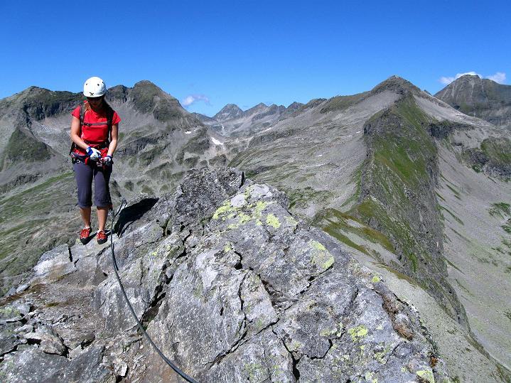 Foto: Andreas Koller / Klettersteig Tour / Bella Vista Klettersteig auf die Hohe Leier (2774 m) / 06.09.2009 23:29:05