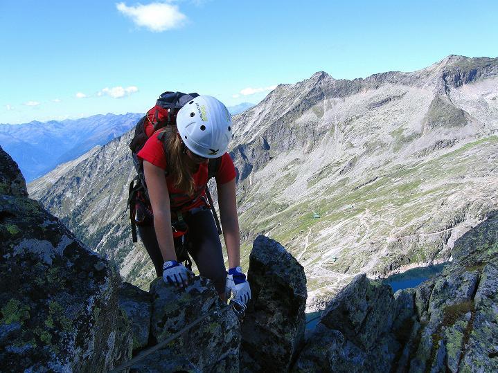 Foto: Andreas Koller / Klettersteig Tour / Bella Vista Klettersteig auf die Hohe Leier (2774 m) / 06.09.2009 23:28:55
