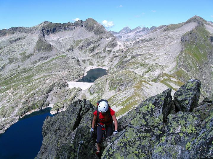 Foto: Andreas Koller / Klettersteig Tour / Bella Vista Klettersteig auf die Hohe Leier (2774 m) / 06.09.2009 23:28:46