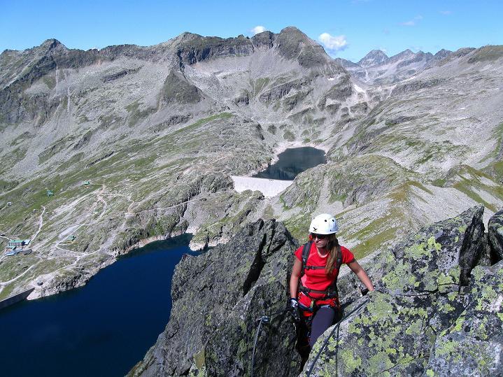 Foto: Andreas Koller / Klettersteig Tour / Bella Vista Klettersteig auf die Hohe Leier (2774 m) / 06.09.2009 23:28:36