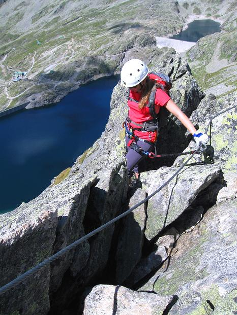 Foto: Andreas Koller / Klettersteig Tour / Bella Vista Klettersteig auf die Hohe Leier (2774 m) / 06.09.2009 23:28:15