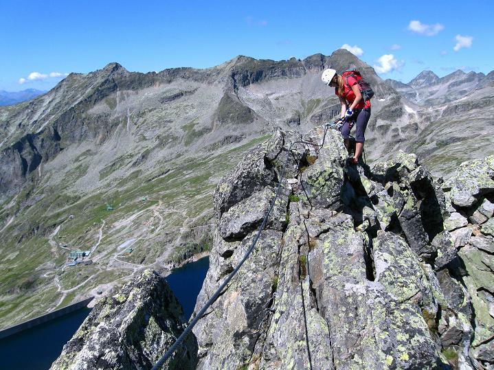 Foto: Andreas Koller / Klettersteig Tour / Bella Vista Klettersteig auf die Hohe Leier (2774 m) / 06.09.2009 23:28:07