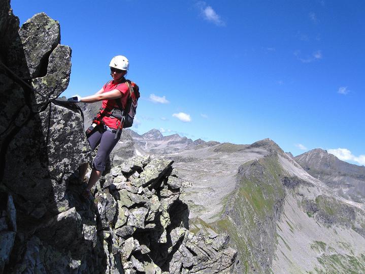 Foto: Andreas Koller / Klettersteig Tour / Bella Vista Klettersteig auf die Hohe Leier (2774 m) / 06.09.2009 23:27:57