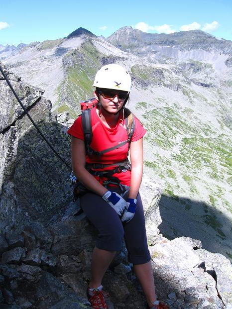 Foto: Andreas Koller / Klettersteig Tour / Bella Vista Klettersteig auf die Hohe Leier (2774 m) / 06.09.2009 23:27:28