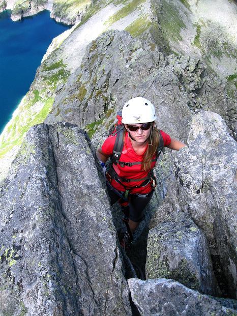 Foto: Andreas Koller / Klettersteig Tour / Bella Vista Klettersteig auf die Hohe Leier (2774 m) / 06.09.2009 23:26:55