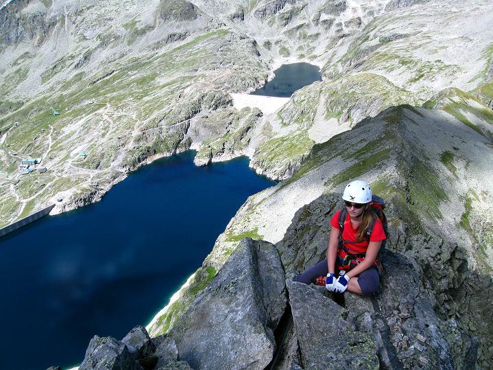 Foto: Andreas Koller / Klettersteig Tour / Bella Vista Klettersteig auf die Hohe Leier (2774 m) / 06.09.2009 23:26:47