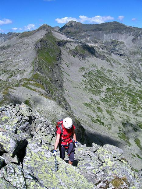 Foto: Andreas Koller / Klettersteig Tour / Bella Vista Klettersteig auf die Hohe Leier (2774 m) / 06.09.2009 23:25:51