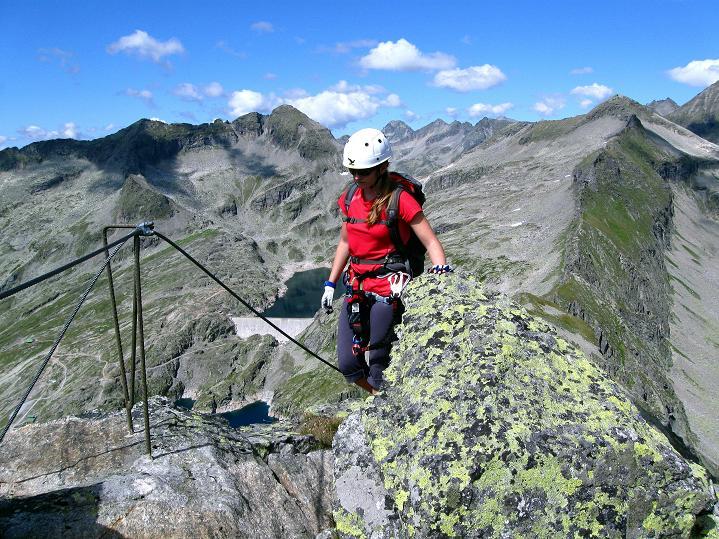 Foto: Andreas Koller / Klettersteig Tour / Bella Vista Klettersteig auf die Hohe Leier (2774 m) / 06.09.2009 23:25:38