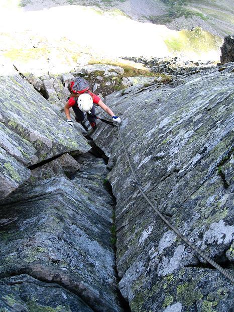 Foto: Andreas Koller / Klettersteig Tour / Bella Vista Klettersteig auf die Hohe Leier (2774 m) / 06.09.2009 23:25:17