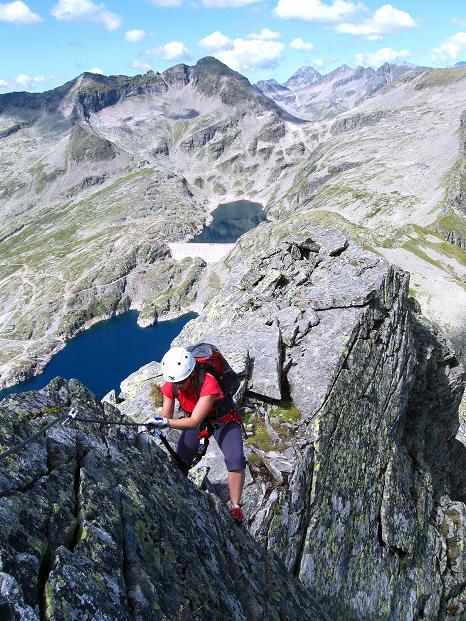 Foto: Andreas Koller / Klettersteig Tour / Bella Vista Klettersteig auf die Hohe Leier (2774 m) / 06.09.2009 23:25:06