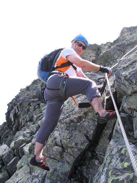 Foto: Andreas Koller / Klettersteig Tour / Bella Vista Klettersteig auf die Hohe Leier (2774 m) / 06.09.2009 23:24:54