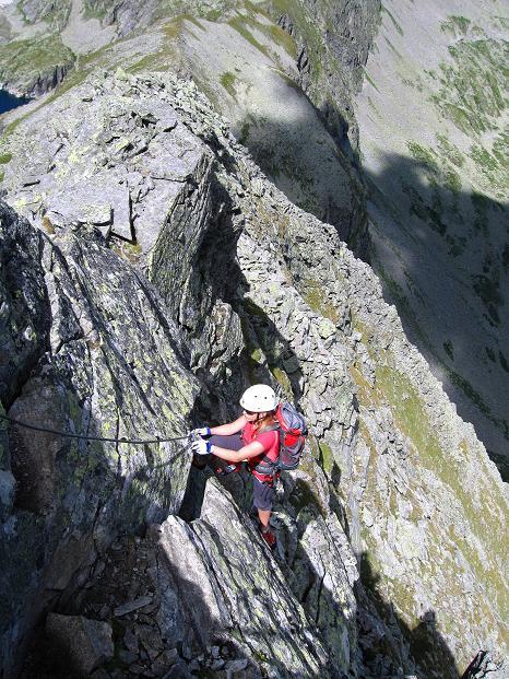 Foto: Andreas Koller / Klettersteig Tour / Bella Vista Klettersteig auf die Hohe Leier (2774 m) / 06.09.2009 23:24:44