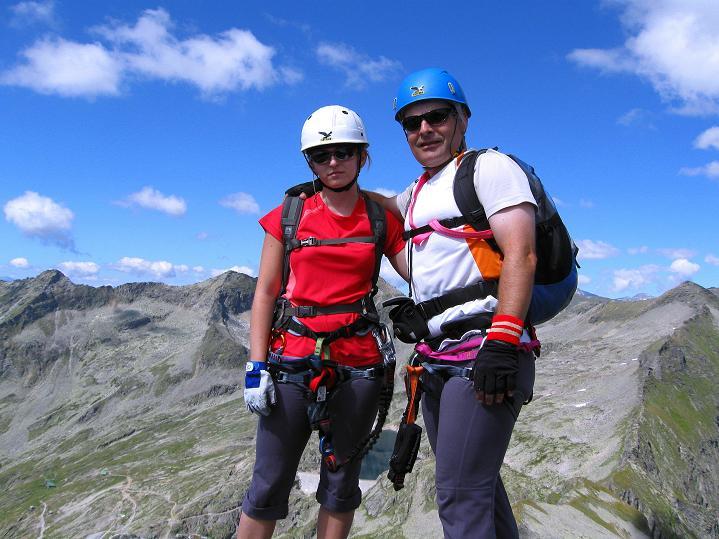 Foto: Andreas Koller / Klettersteig Tour / Bella Vista Klettersteig auf die Hohe Leier (2774 m) / 06.09.2009 23:24:34
