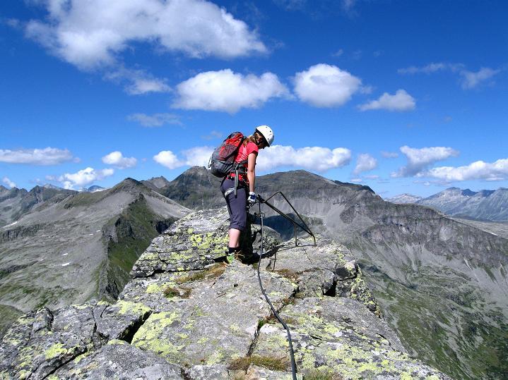 Foto: Andreas Koller / Klettersteig Tour / Bella Vista Klettersteig auf die Hohe Leier (2774 m) / 06.09.2009 23:23:44