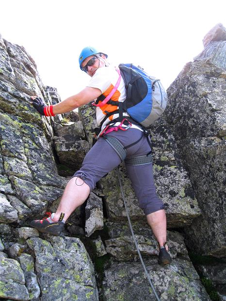 Foto: Andreas Koller / Klettersteig Tour / Bella Vista Klettersteig auf die Hohe Leier (2774 m) / 06.09.2009 23:23:35