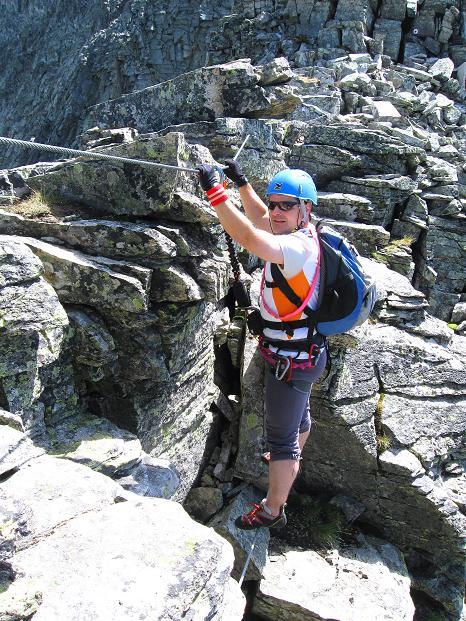 Foto: Andreas Koller / Klettersteig Tour / Bella Vista Klettersteig auf die Hohe Leier (2774 m) / 06.09.2009 23:22:33