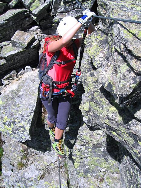 Foto: Andreas Koller / Klettersteig Tour / Bella Vista Klettersteig auf die Hohe Leier (2774 m) / 06.09.2009 23:22:23