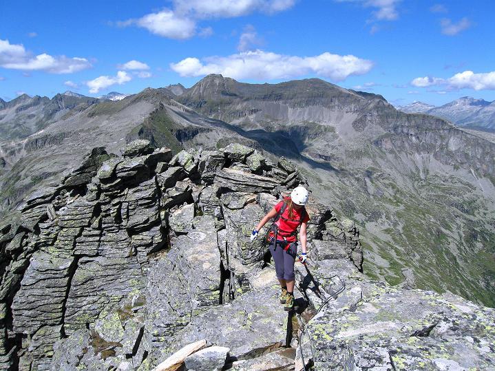 Foto: Andreas Koller / Klettersteig Tour / Bella Vista Klettersteig auf die Hohe Leier (2774 m) / 06.09.2009 23:22:13