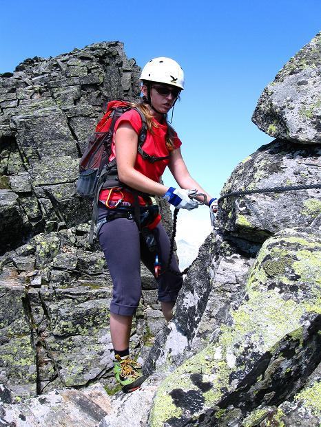 Foto: Andreas Koller / Klettersteig Tour / Bella Vista Klettersteig auf die Hohe Leier (2774 m) / 06.09.2009 23:22:02