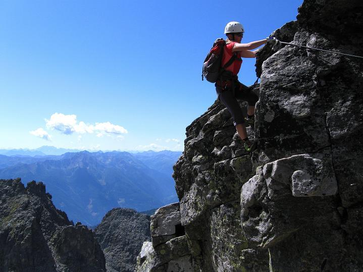 Foto: Andreas Koller / Klettersteig Tour / Bella Vista Klettersteig auf die Hohe Leier (2774 m) / 06.09.2009 23:21:52