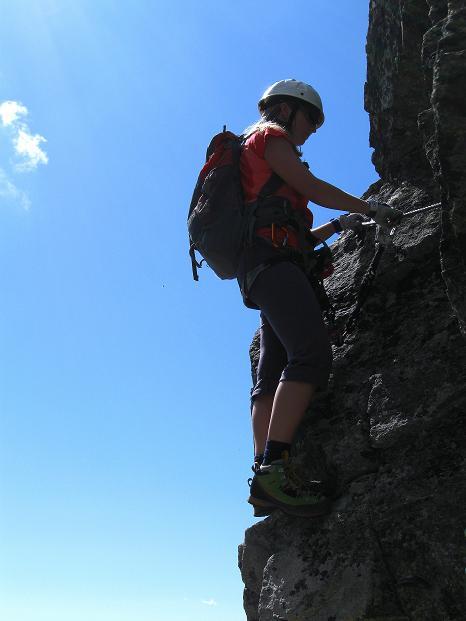 Foto: Andreas Koller / Klettersteig Tour / Bella Vista Klettersteig auf die Hohe Leier (2774 m) / 06.09.2009 23:21:43