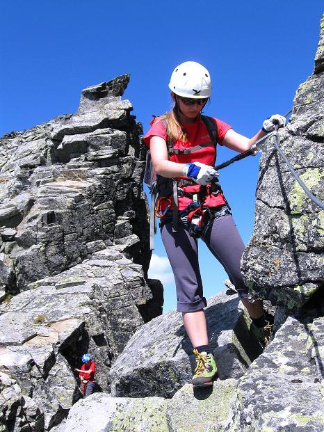 Foto: Andreas Koller / Klettersteig Tour / Bella Vista Klettersteig auf die Hohe Leier (2774 m) / 06.09.2009 23:21:31