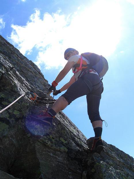 Foto: Andreas Koller / Klettersteig Tour / Bella Vista Klettersteig auf die Hohe Leier (2774 m) / 06.09.2009 23:21:21