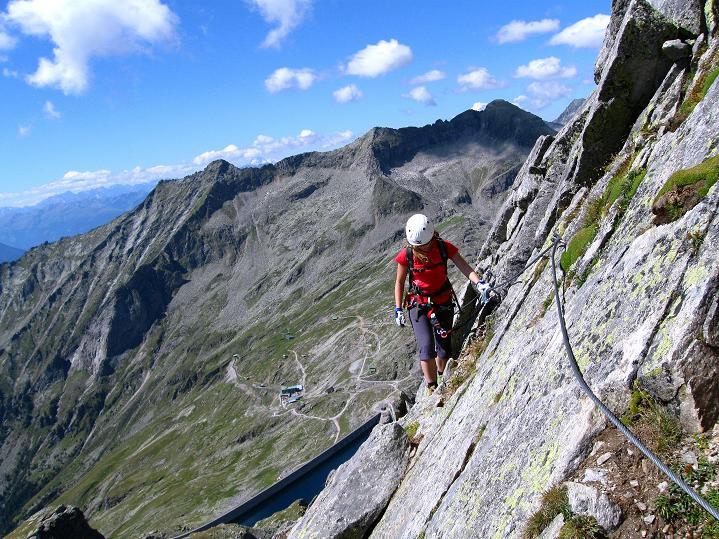 Foto: Andreas Koller / Klettersteig Tour / Bella Vista Klettersteig auf die Hohe Leier (2774 m) / 06.09.2009 23:21:11