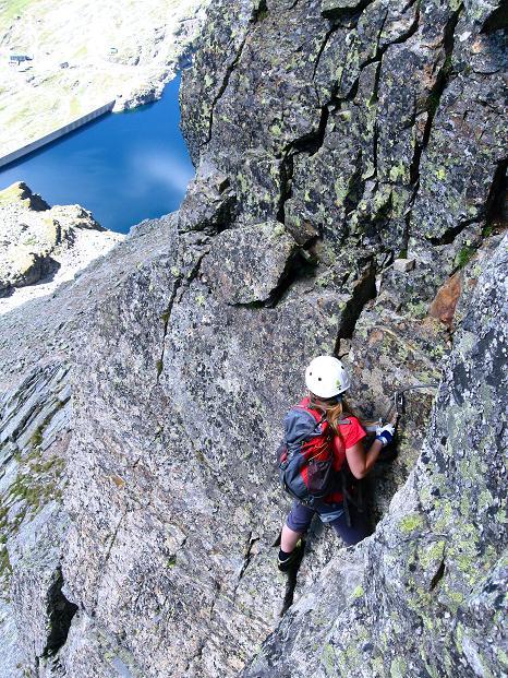 Foto: Andreas Koller / Klettersteig Tour / Bella Vista Klettersteig auf die Hohe Leier (2774 m) / 06.09.2009 23:20:38