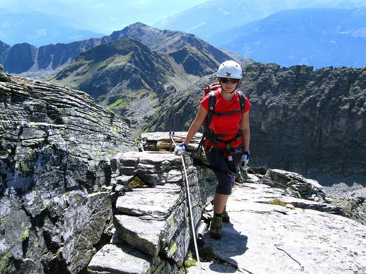 Foto: Andreas Koller / Klettersteig Tour / Bella Vista Klettersteig auf die Hohe Leier (2774 m) / 06.09.2009 23:20:25
