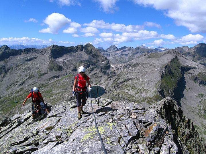 Foto: Andreas Koller / Klettersteig Tour / Bella Vista Klettersteig auf die Hohe Leier (2774 m) / 06.09.2009 23:20:15