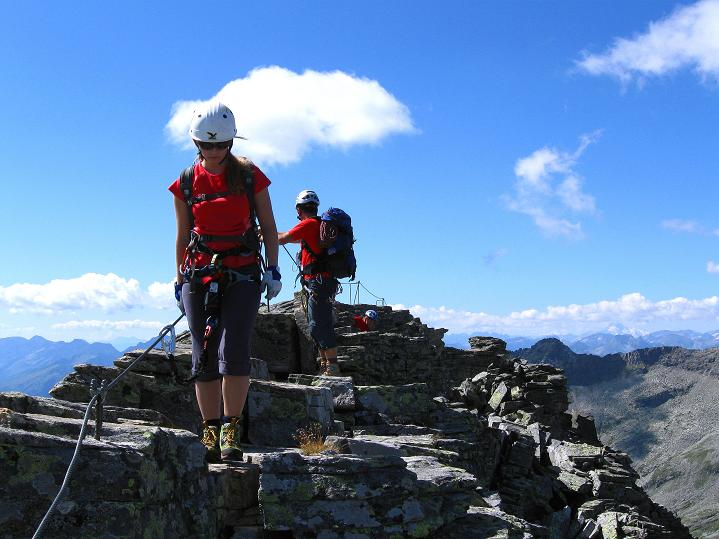 Foto: Andreas Koller / Klettersteig Tour / Bella Vista Klettersteig auf die Hohe Leier (2774 m) / 06.09.2009 23:20:06