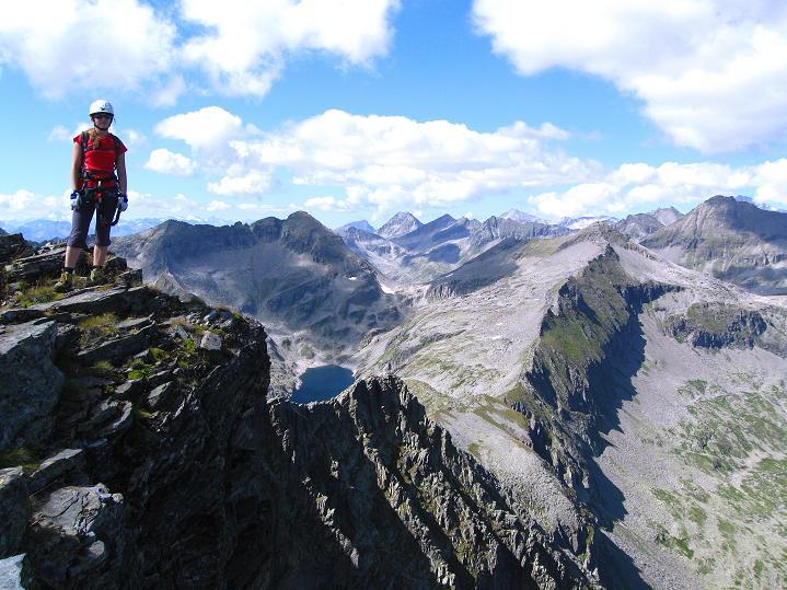 Foto: Andreas Koller / Klettersteig Tour / Bella Vista Klettersteig auf die Hohe Leier (2774 m) / 06.09.2009 23:19:30