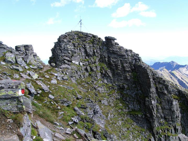 Foto: Andreas Koller / Klettersteig Tour / Bella Vista Klettersteig auf die Hohe Leier (2774 m) / Der Gipfel ist schon sehr nahe / 06.09.2009 23:19:20