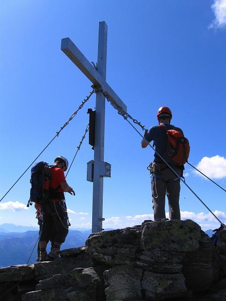 Foto: Andreas Koller / Klettersteig Tour / Bella Vista Klettersteig auf die Hohe Leier (2774 m) / 06.09.2009 23:18:12