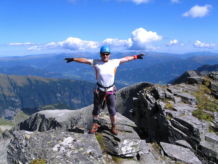 Foto: Andreas Koller / Klettersteig Tour / Bella Vista Klettersteig auf die Hohe Leier (2774 m) / 06.09.2009 23:18:00