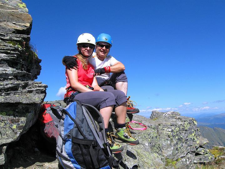 Foto: Andreas Koller / Klettersteig Tour / Bella Vista Klettersteig auf die Hohe Leier (2774 m) / 06.09.2009 23:17:20