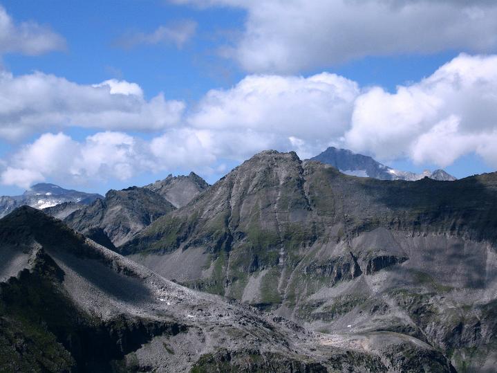 Foto: Andreas Koller / Klettersteig Tour / Bella Vista Klettersteig auf die Hohe Leier (2774 m) / Blick zur Hochalmspitze (3360 m) / 06.09.2009 23:17:12