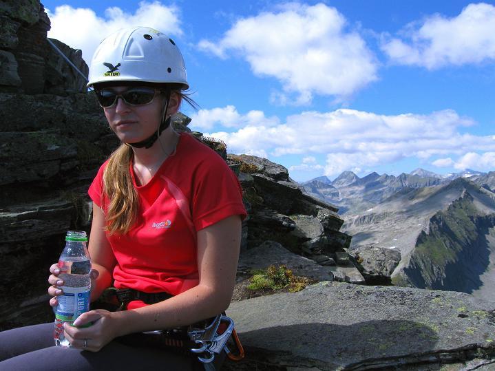 Foto: Andreas Koller / Klettersteig Tour / Bella Vista Klettersteig auf die Hohe Leier (2774 m) / 06.09.2009 23:16:39