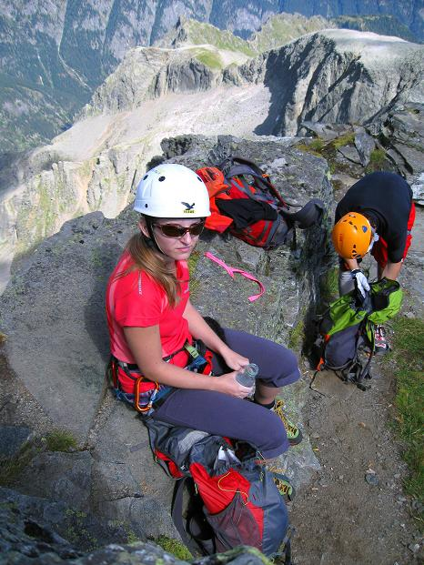 Foto: Andreas Koller / Klettersteig Tour / Bella Vista Klettersteig auf die Hohe Leier (2774 m) / 06.09.2009 23:15:31