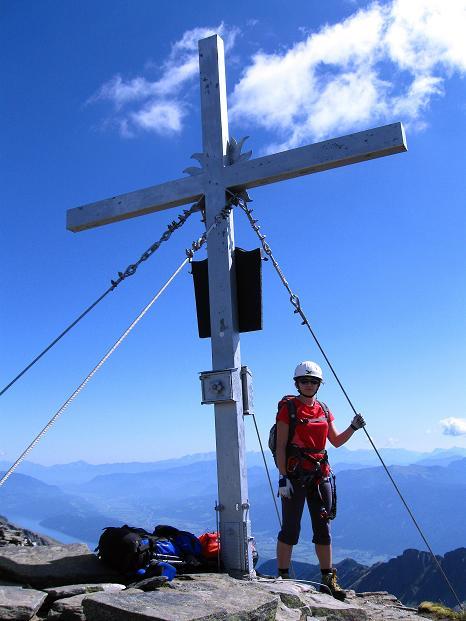Foto: Andreas Koller / Klettersteig Tour / Bella Vista Klettersteig auf die Hohe Leier (2774 m) / 06.09.2009 23:15:22