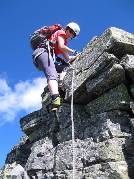 Foto: Andreas Koller / Klettersteig Tour / Bella Vista Klettersteig auf die Hohe Leier (2774 m) / Abstieg von der Hohen Leier / 06.09.2009 23:15:12