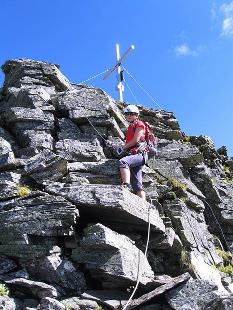Foto: Andreas Koller / Klettersteig Tour / Bella Vista Klettersteig auf die Hohe Leier (2774 m) / 06.09.2009 23:14:52