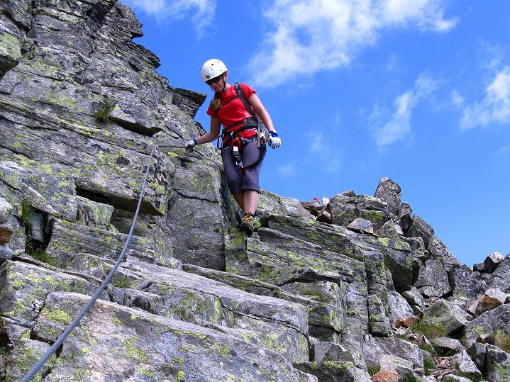 Foto: Andreas Koller / Klettersteig Tour / Bella Vista Klettersteig auf die Hohe Leier (2774 m) / 06.09.2009 23:13:54