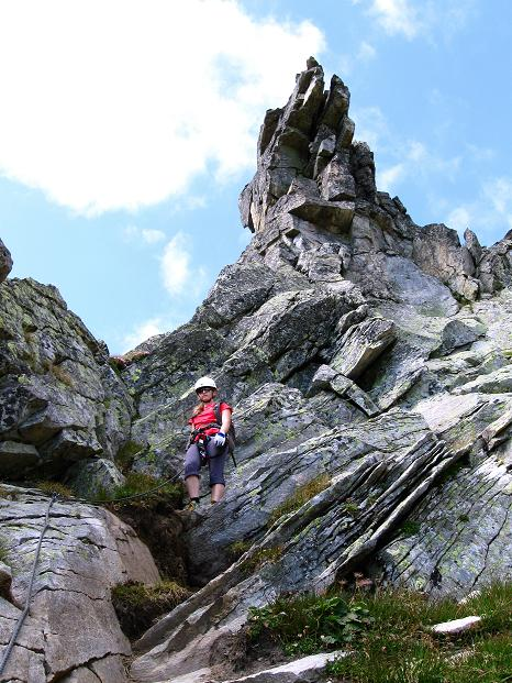 Foto: Andreas Koller / Klettersteig Tour / Bella Vista Klettersteig auf die Hohe Leier (2774 m) / 06.09.2009 23:13:17