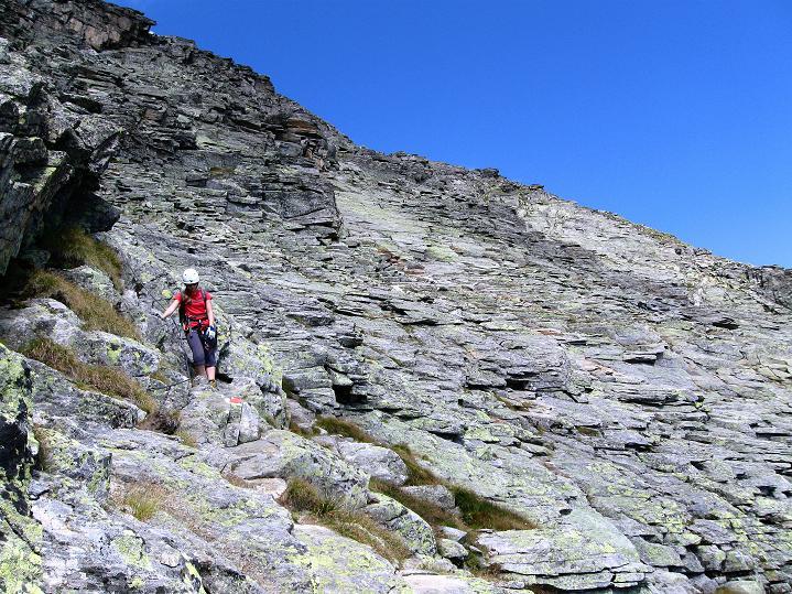 Foto: Andreas Koller / Klettersteig Tour / Bella Vista Klettersteig auf die Hohe Leier (2774 m) / 06.09.2009 23:13:02